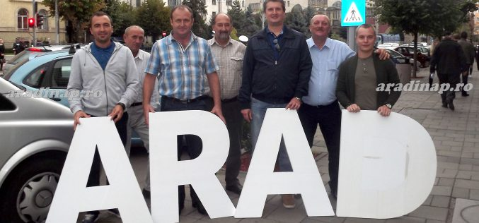 Aradiak a marosvásárhelyi tüntetésen [VIDEÓ]