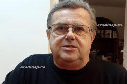 Matúz András képzőművész döbbenete a nagylaki templomban