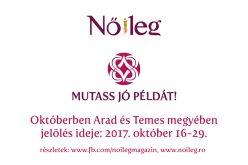 Mutass jó példát!: októberben Arad megyében