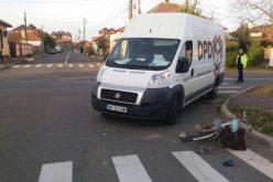 Részeg kerékpárost ütött el egy kisteherautó