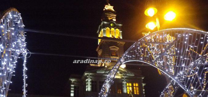 Hétfőn ünnepi díszfénybe öltözik Arad