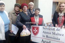 A máltaiak karácsonyi támogatása a rászorultaknak