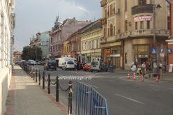 Arad főutcája: annak egy pofont