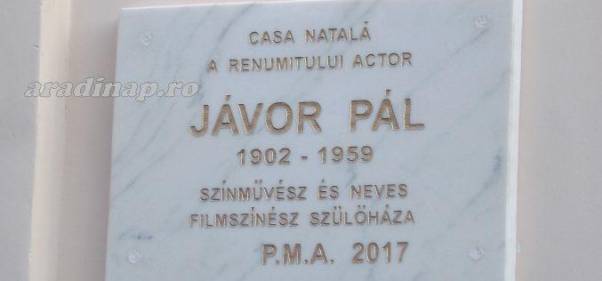 Aradon leleplezték Jávor Pál emléktábláját [VIDEÓ]