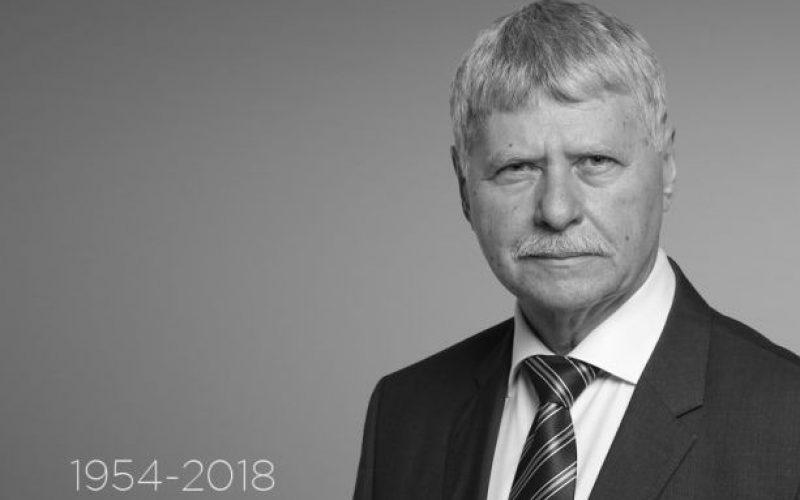 Szombaton helyezik örök nyugalomra Verestóy Attila szenátort