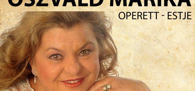 Kamaraszínház: operett-est Oszvald Marikával