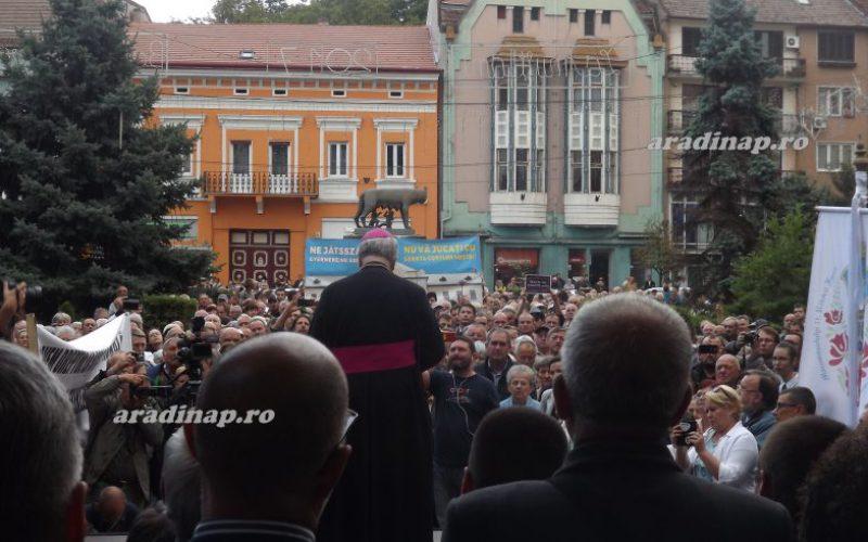 RMDSZ: Románia szégyene, hogy alkotmányellenes egy kisebbségi iskola létrehozása!