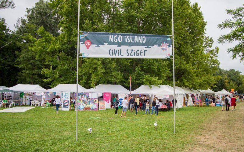 """Sziget Fesztivál: civil szervezetek is """"fellépnek"""""""
