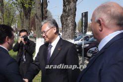 Pécskára látogatott a kínai nagykövet