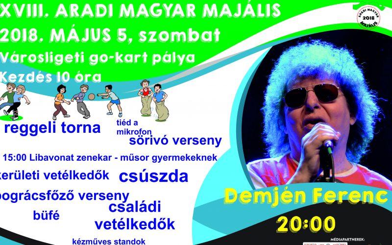 XVIII. Aradi Magyar Majális