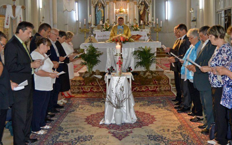Letette az esküt Pécskán az új egyháztanács