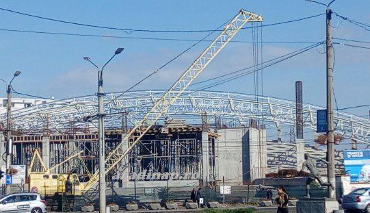 UTA-stadion építése: 186 napon át hideg volt