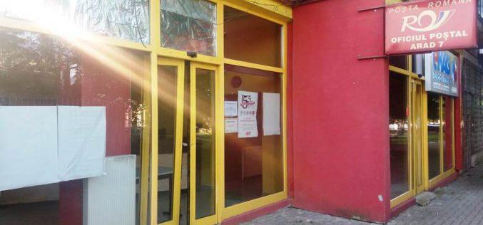Kirámoltak egy mikelakai postahivatalt