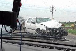 Vonat csapott el személyautót Zimándújfalunál