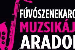Arad, Békés, Temes megyei fúvószenekarok koncertje a Megbékélési Parkban
