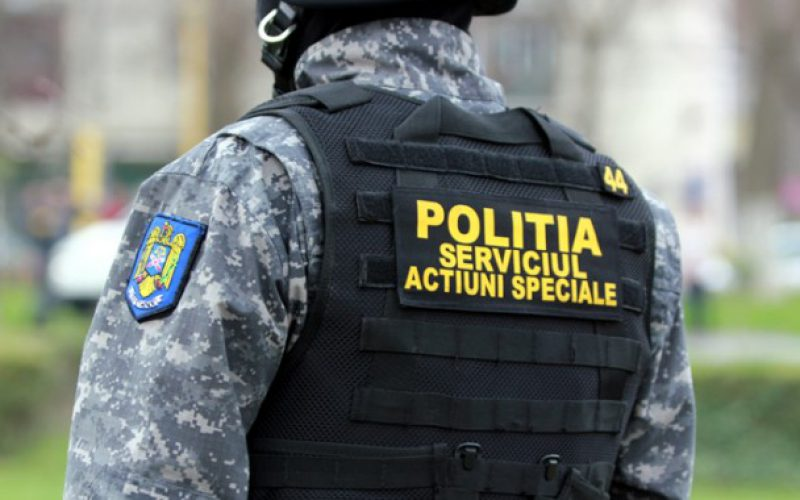 A rendőrség intervenciós csapatát hívták egy pécskai kocsmához