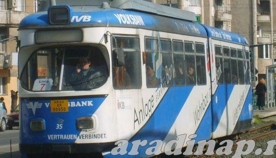 Huszonnyolc új villamost vásárol Arad