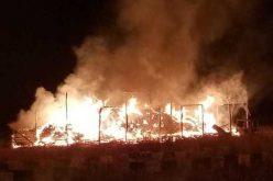 Harmincöt tonna szalma égett Magyarádon