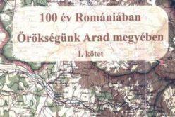 Új helytörténeti könyv: Örökségünk Arad megyében