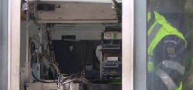Gázt nyomtak a bankautomatába: felrobbantották, kirámolták