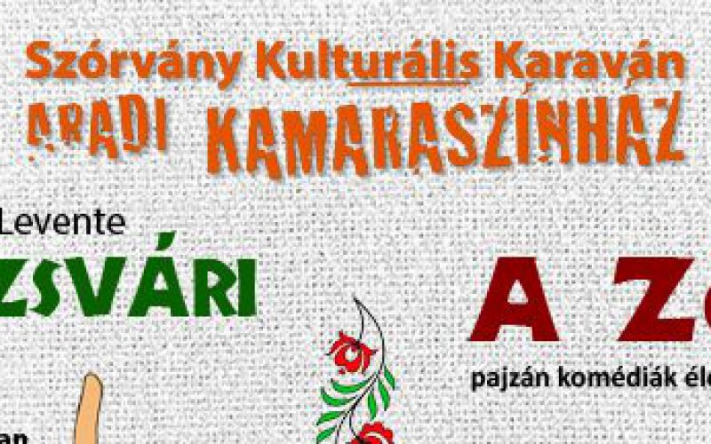 Szórvány Kulturális Karavánt indít az Aradi Kamaraszínház