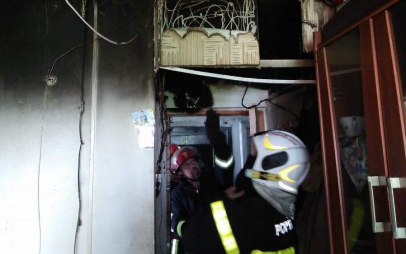 Kigyulladt egy lakás a Vlaicu-negyedben