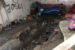 Hajléktalanokat rámoltak ki egy belvárosi garázsból