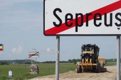 Decemberre elkészül a Nagyszintye-Seprős út felújítása