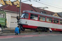 Ismét kisiklott egy villamos Mosóczon