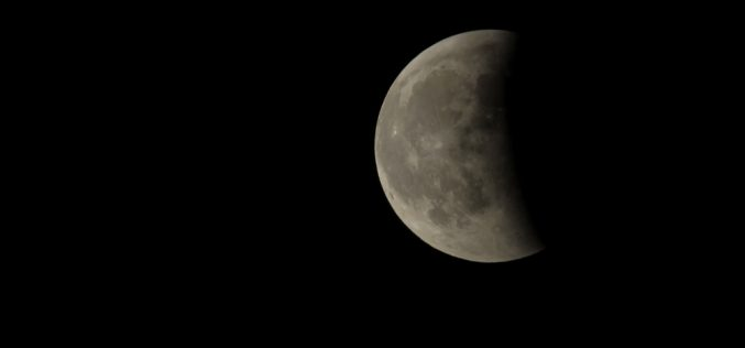 Ma este részleges holdfogyatkozás lesz