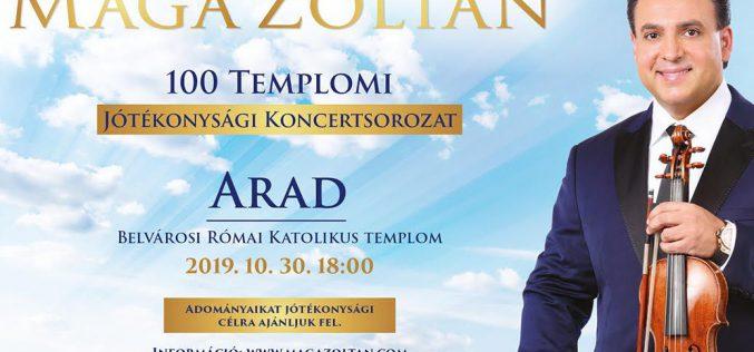 Mága Zoltán koncert Aradon