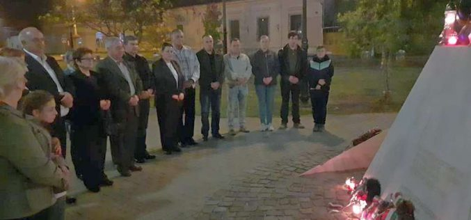 '56-os megemlékezés Pécskán