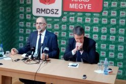 Kelemen Hunor sajtótájékoztatója Aradon