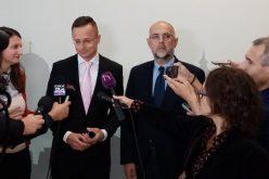 Szijjártó Péter beszólt Aradon a román kormánynak
