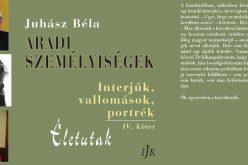 Juhász Béla IV. interjúkötetének bemutatója