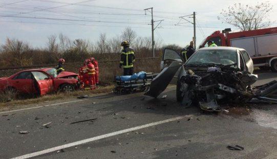 Halálos baleset Arad és Sofronya között
