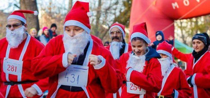 Happy Race: a Mikulás csak két kilométert fut