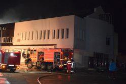 Leégett a Betel templom bútorzata