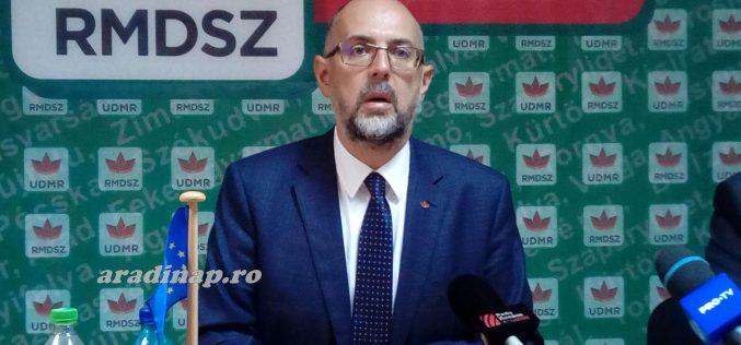 Cîţu-kabinet: az RMDSZ előbb névsort, programot akar látni