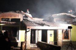 Tűz a lakónegyedben: gázpalack robbant fel