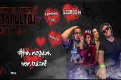 Valentin napi mega-buli Kisiratoson