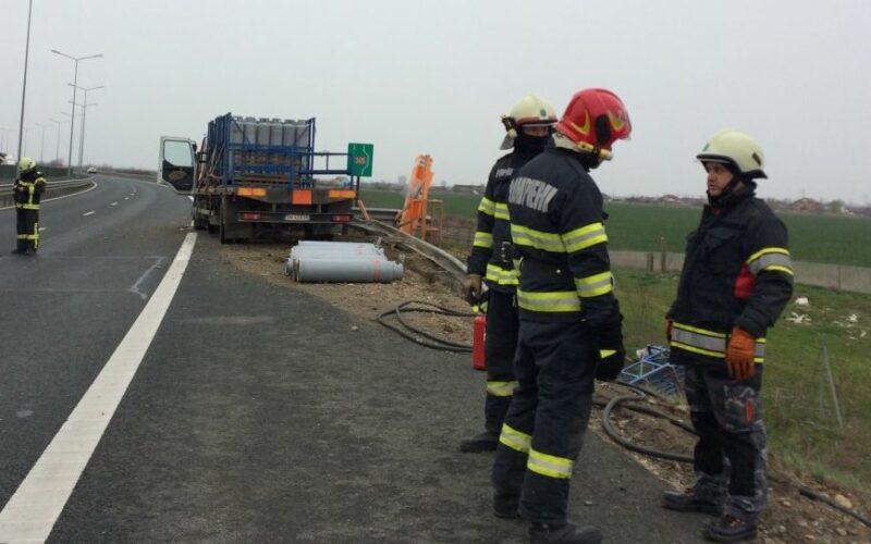 Meghalt a volánnál a PB-gázt szállító kamion sofőrje