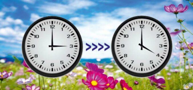 Áttérünk a nyári időszámításra