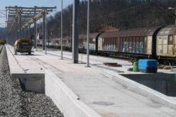Új peron a soborsini vasútállomásnál