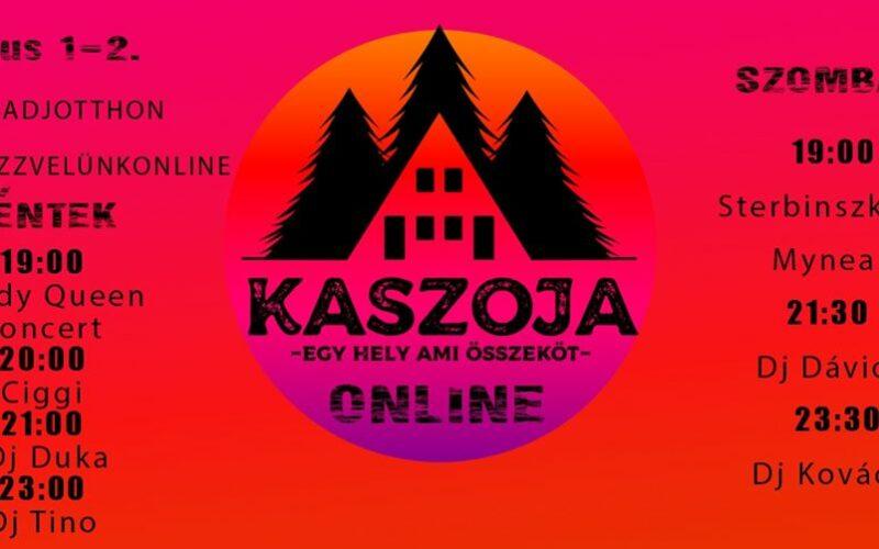 Az AMISZ megszervezte a Kaszoja Fesztivált online