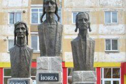 Mihai Viteazul, Horea, Cloşca és Crişan a román nemzet hősei, mártírjai