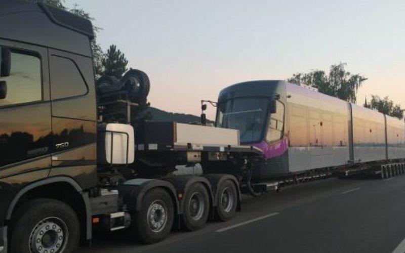 A negyedik Imperio villamost is leszállították Kolozsvárra
