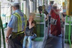 A helyi rendőrök egyre többet villamosoznak