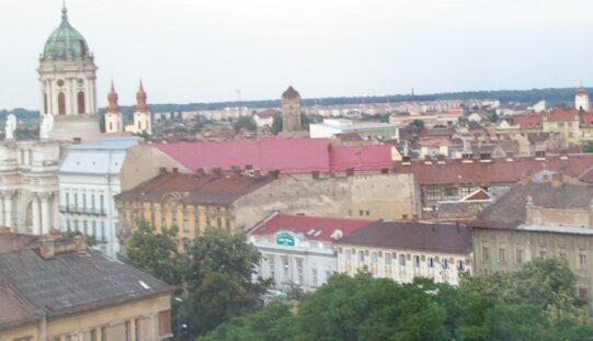 Órák kérdése, és Arad megyeszékhely átcsap vörösbe