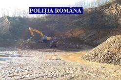 Illegális kő- és homokbányászat Lippán